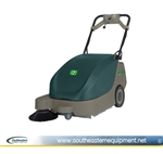 "Demo Nobles Scout 5 24"" Battery Walk Behind Sweeper"