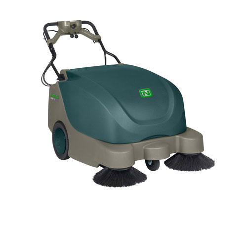 "New Nobles Scout 9 35"" Battery Walk-Behind Sweeper"