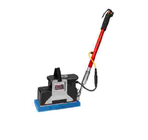 "New Square Scrub EBG-9-H24 Doodle Scrub with 24"" Handle"