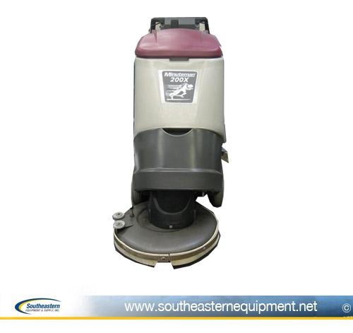 minuteman 200x floor scrubber | automatic floor scrubbers