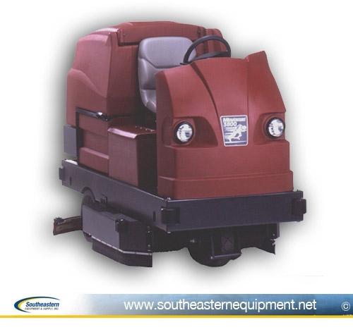 south eastern equipment - minuteman 3800 floor scrubber
