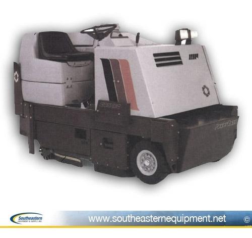 south eastern equipment - minuteman powerboss floor scrubber