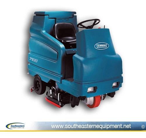 Tennant For Sale Used Industrial Floor Scrubbers - Used riding floor scrubber for sale