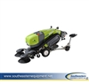Reconditioned Tennant Green Machine 414 Ride-On Sweeper