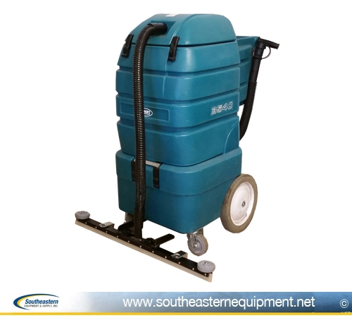 Reconditioned Tennant 3540 Battery Wet Dry Vac W Front Mount Squeegee