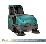Reconditioned Tennant S30 Rider Sweeper w. Cab Heat/AC