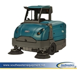 Reconditioned Tennant S30 Diesel Powered Rider Floor Sweeper w/ Cab