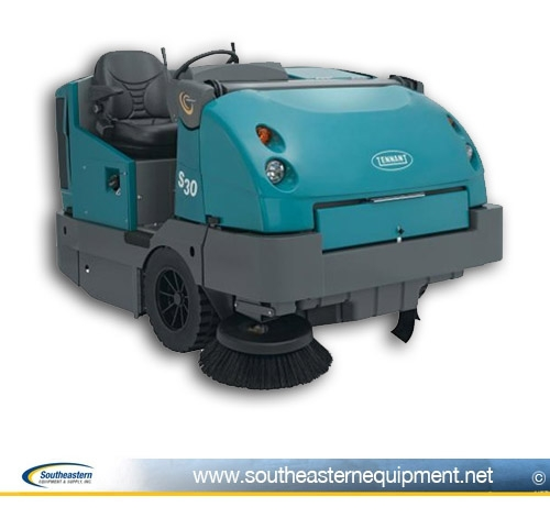 Tennant S30 Rider Sweeper Reconditioned Floor Sweeper