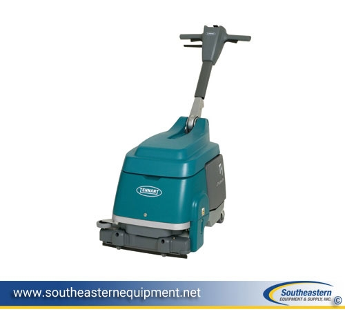 Tennant T Shop WalkBehind Battery Floor Scrubber - Floor scrubers