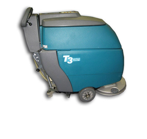 Reconditioned Tennant T3 Disk 20 inch Floor Scrubber with ec-H2O and Traction Drive