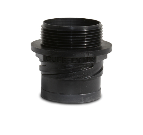 "Mytee H132 Cuff-Lynx™ 2.5"" Male Starter Vacuum Hose Connector"
