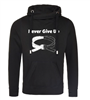 Never Give Up Cowl Hoodie Adults