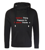 Positive Things Cowl Hoodie Adults