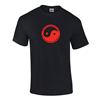 Red Yin Yang T-Shirt Kids