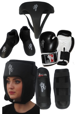 Full Sparring Kit Bundle - Adults