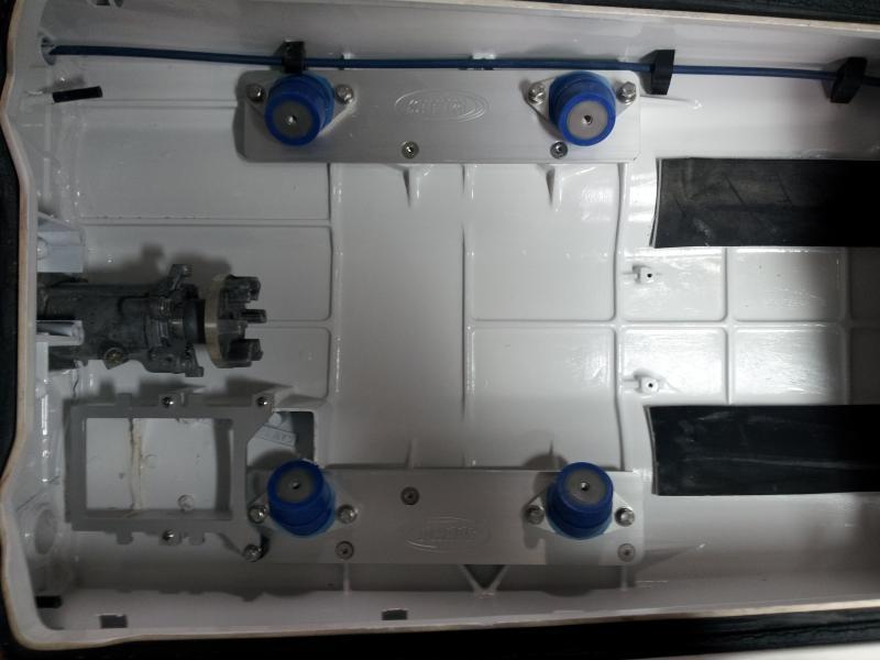 Yamaha 650-701-760 engine in a Kawasaki 440-550 hull