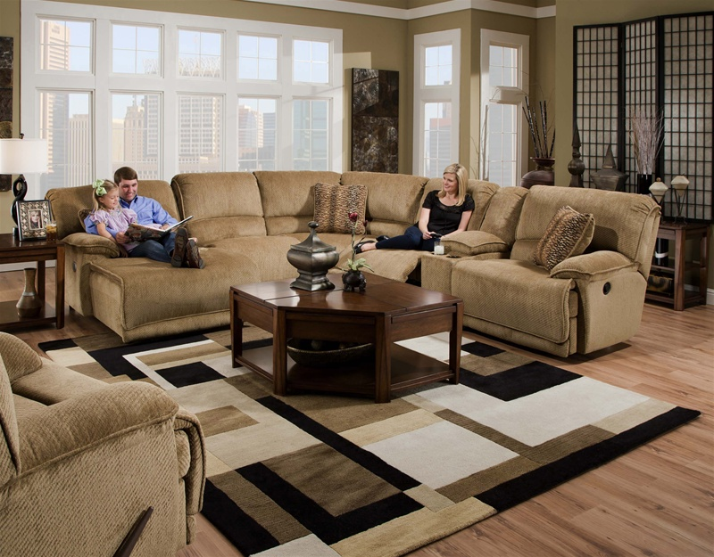 Grandover Fully Modular Reclining Sectional By Catnapper