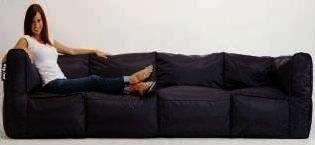 Big Joe 4 Piece Zip Modular Sofa By Comfort Research