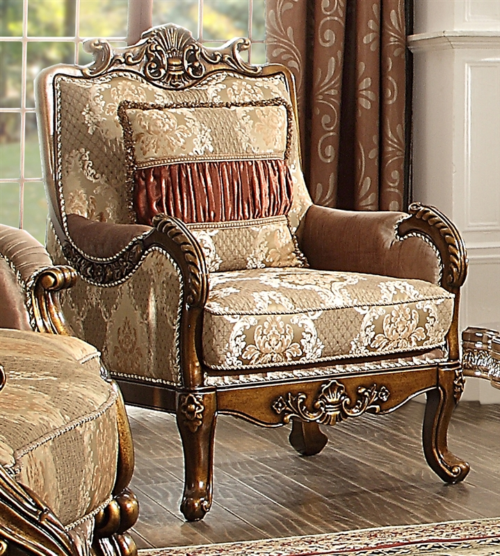 Old World Living Room Furniture: Lavish Old World 2 Piece Living Room Set By Homey Design