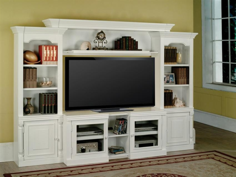 excellent tv wall units furniture | Alpine 43-60-Inch TV 4 Piece Expendable Premier Wall Unit ...