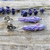 Lavender Blooming Earrings
