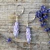 Lavender Earrings - small
