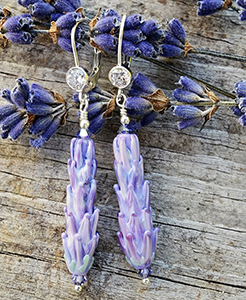 Lavender Earrings - large