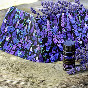 Lavender Face Mask and Organic Lavender Essential Oil