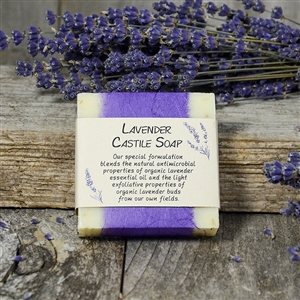 Lavender Castile Soap - single bar