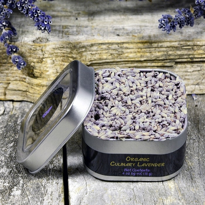 Organic Culinary Lavender - 4oz (vol)