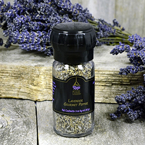 Lavender Gourmet Pepper - refillable grinder