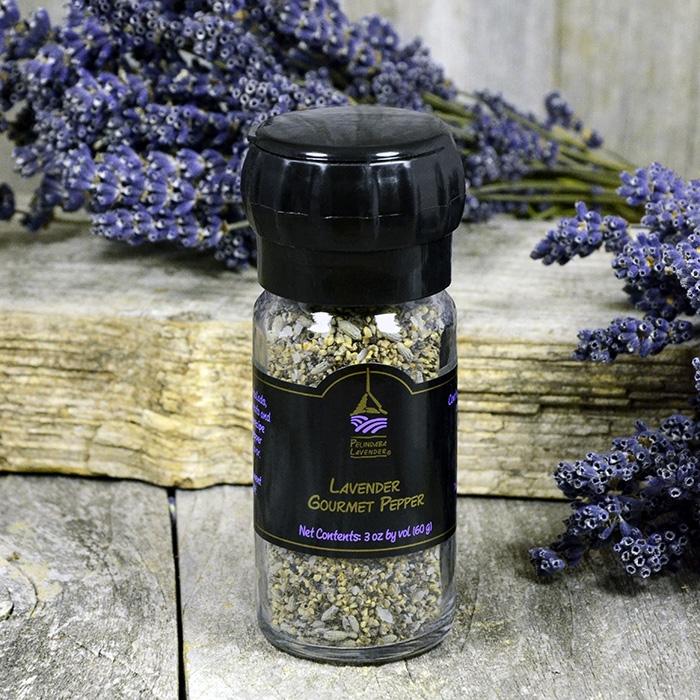 Lavender Gourmet Pepper - grinder