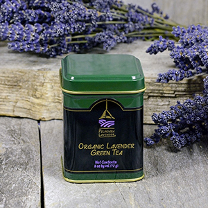 Organic Lavender Green Tea