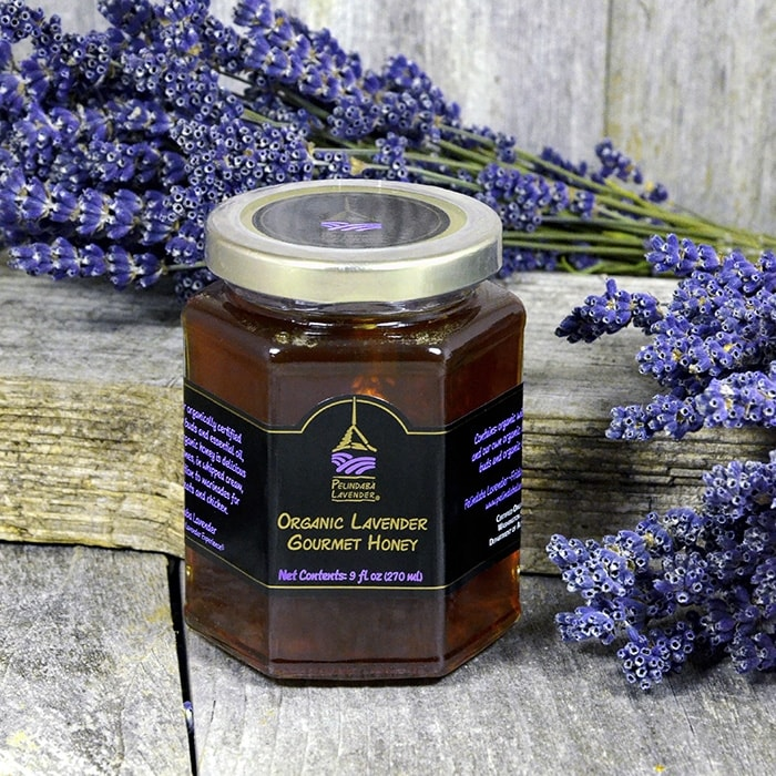 Organic Lavender Gourmet Honey - 9 fl oz