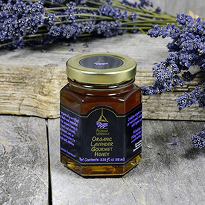 Organic Lavender Gourmet Honey - 3.38 fl oz