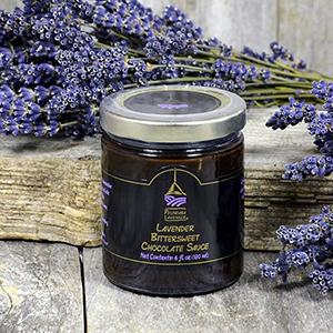 Lavender Bittersweet Chocolate Sauce