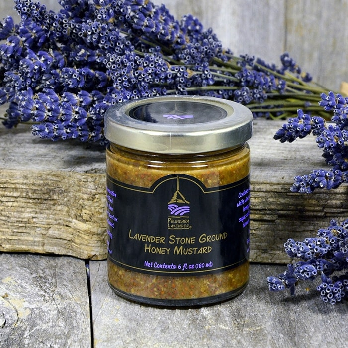 Lavender Stone Ground Honey Mustard - 6 fl oz