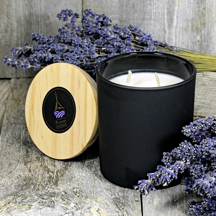 Lavender Essential Oil Luxe Candle