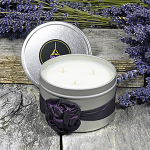 Lavender Spa Therapy Candle