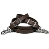 Roper BioThane Beta Loop Roper Rein. Horse Shoe Embossed Western Buckles or Polished Finish.  Removable Thumb Touch Scissor Snaps.  All hardware is Stainless Steel