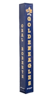 Basketball Pole Pad - ORU Golden Eagles