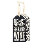 All The Wine Bottle Tag