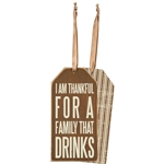 Family that Drinks Bottle Tag