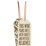 Relatives Bottle Tag