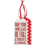 May Your Glass Bottle Tag