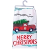 Christmas Truck Towel