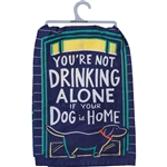 Drinking Alone Towel