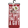 Remind Family That I'm A Gift Towel & Cutter Set