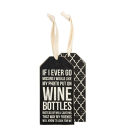 Wine Bottles Bottle Tag
