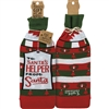 To Santa's Helper From Santa Bottle Sock